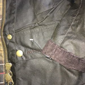 Classic Barbour olive jacket